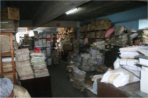 Investigators find approximately 80 million sheets of paper inside the Guatemalan National Police Archive.
